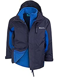 Mountain Warehouse Chaqueta impermeable 3 en 1 Cannonball para niño niña bebe