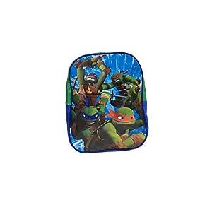 41rYS5gNkeL. SS300  - Mochila de Tortugas Ninja para guardería o Escuela (28 x 23 x 8 cm)