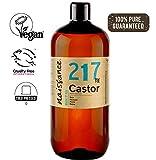 Naissance Huile de Ricin (n° 217) Pressée à froid - 1 litre - 100% pure, végan, sans hexane, sans OGM