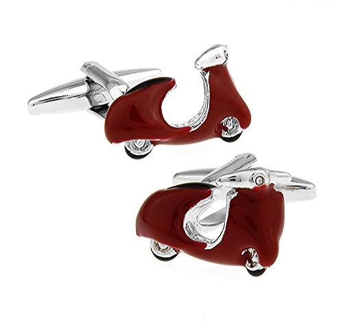 Ashton and Finch Gemelos ciclomotor Plata Rojo. Novedad