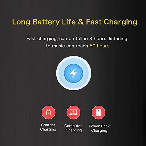 Mibao Lettore MP3 Bluetooth, MP3 Lostless Music Player 16GB con 2.4' TFT Display a Colori, Pulsante di Tocco, con Radio FM/Registratore Vocale/Immagine/E-book, Supporto Espandibile Max Fino a 64GB - 6