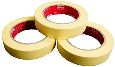 CON:P Kreppbandset 3 Stück, 25 mm x 50 m, B22299 von Conmetall auf TapetenShop