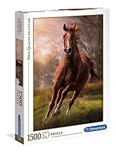 Clementoni Collection Puzzle-The horse-1500 Unidades, Multicolor, 31811