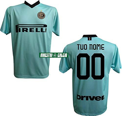 F.c. inter maglia replica away verde personalizzata ufficiale