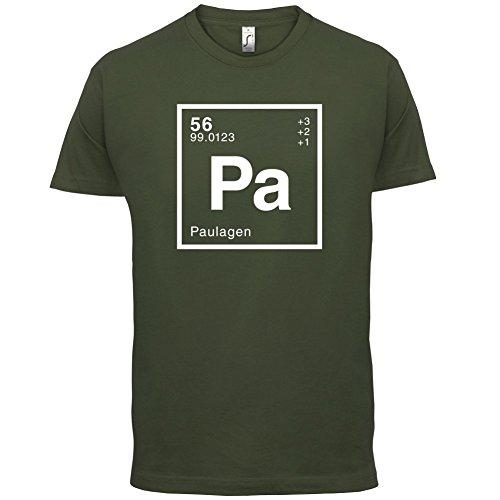 Paula Periodensystem - Herren T-Shirt - 13 Farben Olivgrün