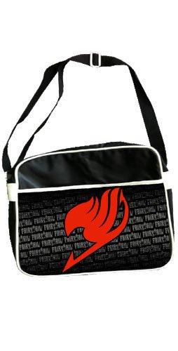 Fairy Tail Borsa Tracolla Cartella Logo Red 38 cm NekoWear Borse