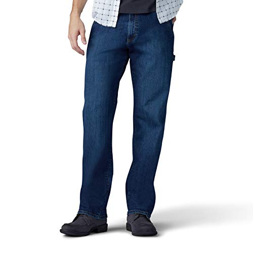 Lee Herren Performance Series Extreme Motion Loose Fit Carpenter Jeans, Gus, 32W / 30L Loose Fit Carpenter Jean