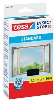 tesar-insect-stop-fliegengitter-standard-fur-fenster-nahezu-durchsichtig-150-m-x-180-m-3er-pack-schw
