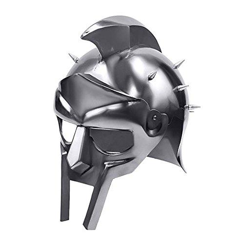 Instrumente Gladiator Armor Helm Mittelalter helm von Maximus Decimus Meridius Armour Decor wie abgebildet (Spartacus Gladiator Kostüme)