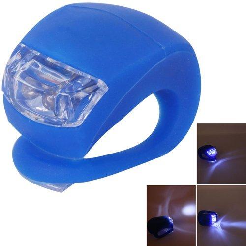 Preisvergleich Produktbild snowwer Fahrrad Wasserdichte Silikon Blinklicht Lampe Kopf Rücklicht Taschenlampe