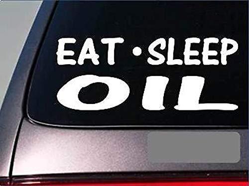 CELYCASY Eat Sleep Oil StickerG951 - Olio essenziale per trapano in vinile, fragranza: lavanda