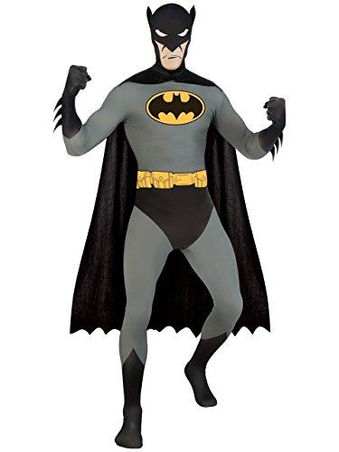 2nd Skin Batman Kostüm, Größe M (Rubies Batman Kostüm)