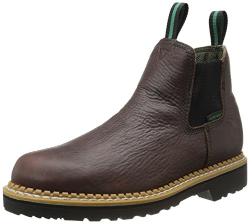 Géorgie GR500 imperméable Men's Romeo de chaussures à enfiler Loafers Marron Marron
