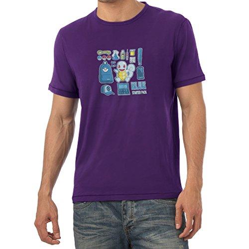 TEXLAB - Blue Poke Pack - Herren T-Shirt Violett