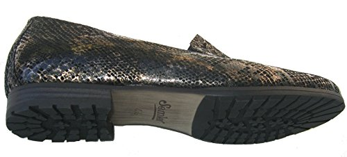 Semler A4231-071-001 Alice donna Slipper nero/bronce