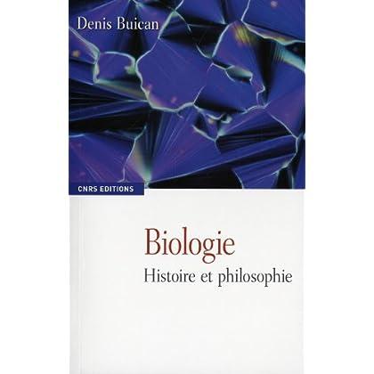 Biologie histoire et philosophie