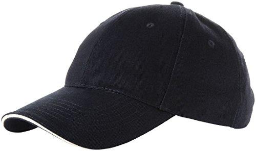 SLAZENGER 6 PANEL SANDWICH BASEBALL CAP - 8 COLOURS