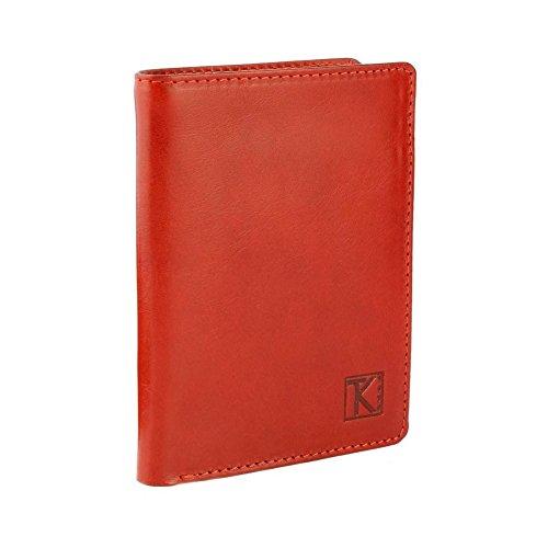 TK 1979 - Petit classique / Portefeuille homme cuir CAMEL TK025 130X95 MM - Orange, Cuir