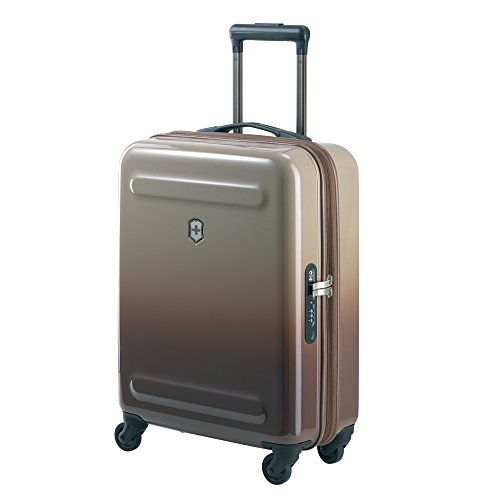 Victorinox Etherius Global Expandable Carry-on Spinner, Dark Earth