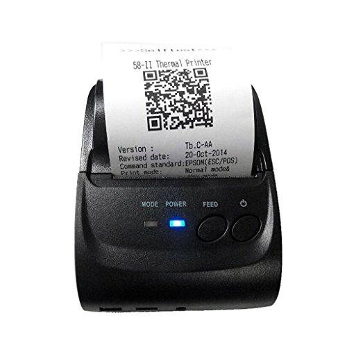 Impresora Térmica Recibos 58mm Bluetooth Portátil