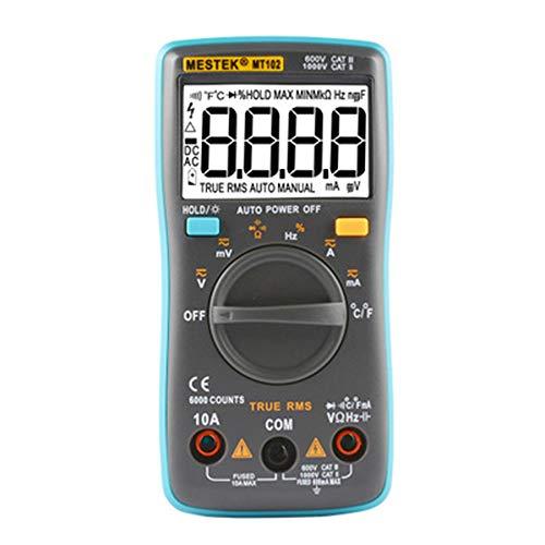YHL Extech Multimeter Clamp Extech Digital-Multimeter mit hinterleuchtetem LCD-Messwerkzeug für Kfz-Labore (ohne Batterie) Extech True Rms Digital-multimeter