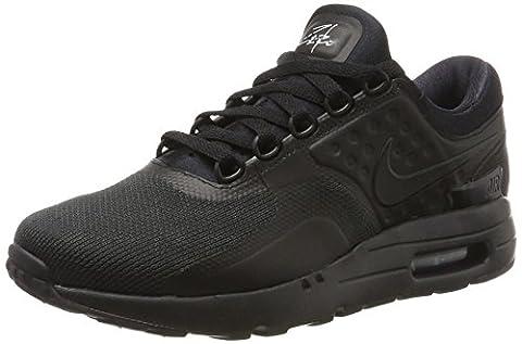 Nike Air Max Zero Essential, Baskets Homme, Noir (Black/Black-Black), 44.5 EU