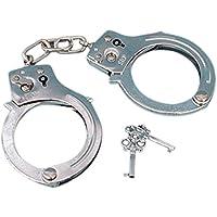 Handcuffs Esposas De Metal Con Llave Para Disfraces