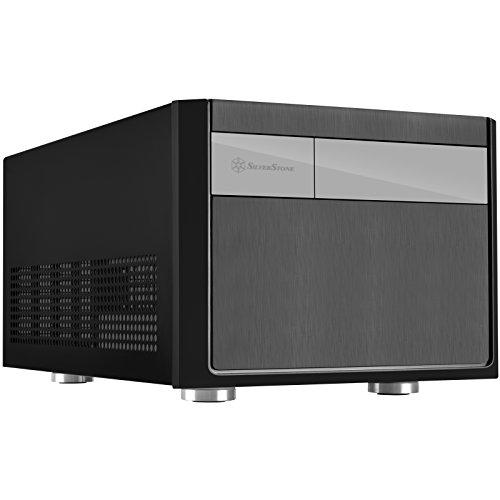 SilverStone SST-SG11B - Sugo Micro ATX Cube Gehäuse, schwarz