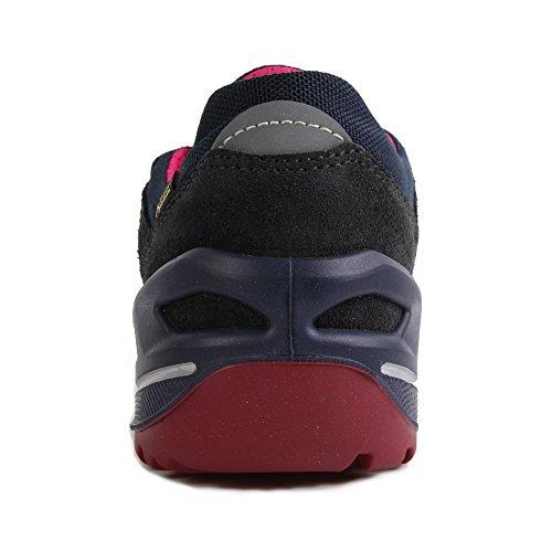 Lowa Simon Ii Gtx Lo, Chaussures de Randonnée Mixte Enfant Noir (Navy/bacca)