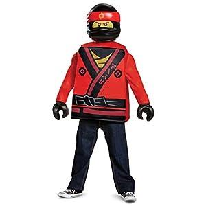 Lego Ninjago Kai 23480K Movie Classic costume, 7 - 8anni 0039897234809 LEGO
