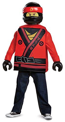 LEGO Ninjago Film 23480l Kai Classic Kostüm, 4-6Jahre (Kinder Olivia Kostüm)