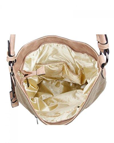 b97d1f81f8ad5 LeahWard® Groß Schule Taschen Damen Segeltuch Schultertasche Handtasche A4  160163 160164 OxfordBlue Glitter Star ...