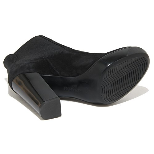 8715N stivaletto HOGAN OPTY nero tronchetto donna boots women Nero