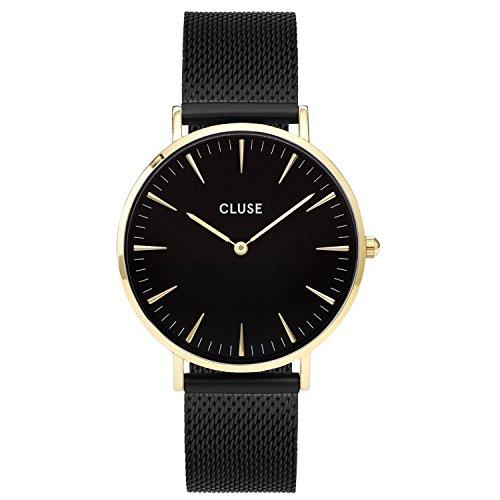 Cluse Damen-Armbanduhr Analog Quarz Edelstahl CL18117