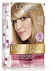 L'OREAL Coloration Excellence Crème - 8.13 Blond Clacé
