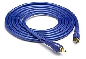 G & BL câble de connexion numérique (1xRCA numérique 75R) 1,0 m (Import Allemagne)