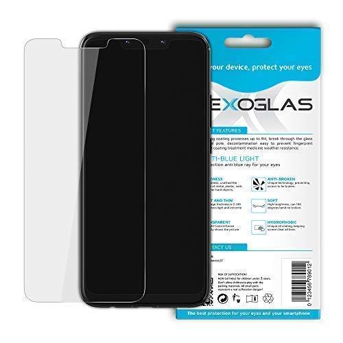 Flexoglas für Huawei Mate 20 Lite Bildschirmschutzfolie Blaulichtfilter Transparente Panzerglasfolie Schutzfolie Resistent wie Gehärtetes Glas 9H Härte Anti-Schock Anti-Kratz