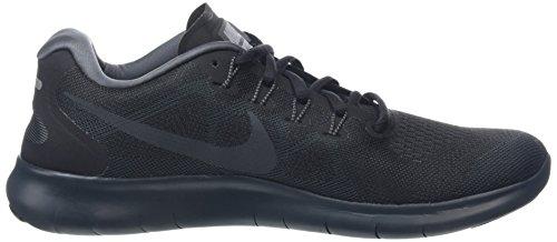 Nike Wmns Free RN 2017, Chaussures de Running Femme Noir (Blackanthracitedark Gr E Y Cool 003)