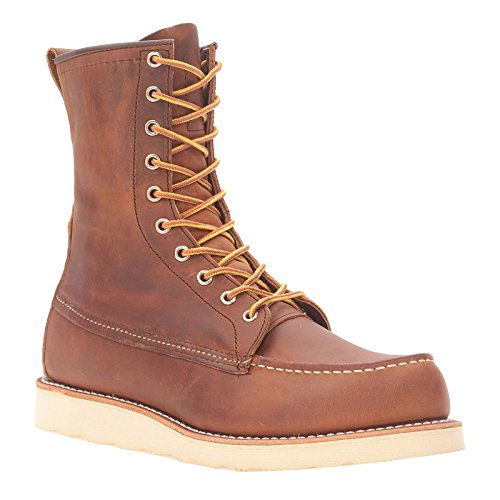 Red Wing Mens 8'' Moc Toe Classic 8830 Leather Boots