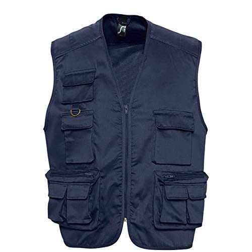 Gilet homme multipoches