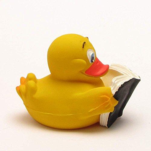 Ente mit Buch