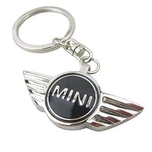 MINI (BMW) schlüsselanhänger SCHWARZ LOGO