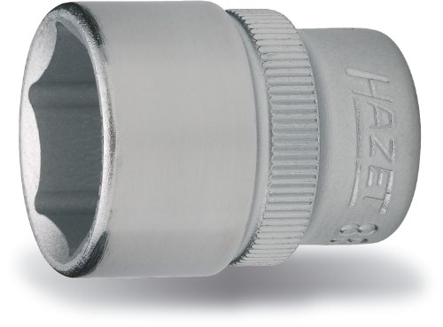 Hazet 880-22 Douille carré creux 10 mm/profil traction à 6 pans extérieurs Taille 22 longueur 34 mm