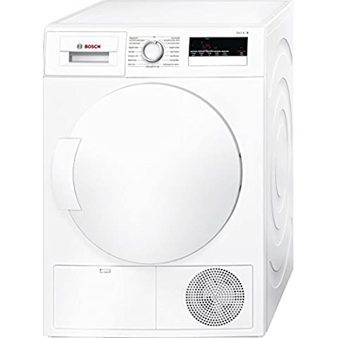 Bosch Serie 4 WTH85200 Independiente Carga frontal 7kg A++ Color blanco - Secadora (Independiente, Carga frontal, Bomba de calor, A++, Color blanco, B)