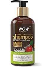 WOW Apple Cider Vinegar No Parabens & Sulphate Shampoo, 300mL