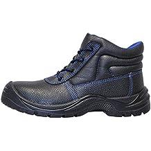 KERMEN - Calzado de seguridad S3 SRC Bota baja ligera Zapatos de trabajo Antideslizante Botines de