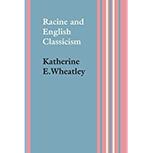 Racine and English Classicism