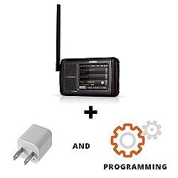Uniden HomePatro-2 OPTIMIZED Phase II Portable Digital Scanner Bundle