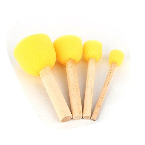 Herramienta-de-pintura-para-los-nios4pcs-Esponja-Stipple-la-plantilla-de-cepillo-de-la-espuma-Dabber-Muebles-artesana