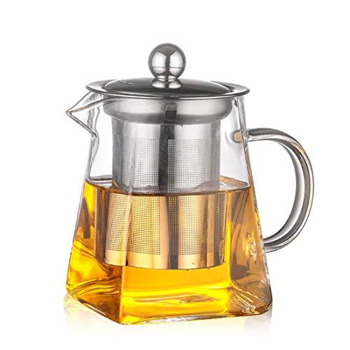 ZZH Economic Wasserkocher Teekanne Wasser Restaurant Fruchtsaft Glas Hitzebeständig (Tee-wasserkocher Mit Infusers)